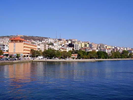 Вид на город Синоп, Турция