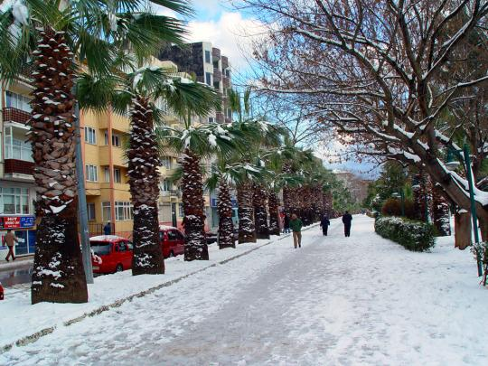 Синоп, зима