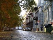 Осеннее утро на Приморском бульваре