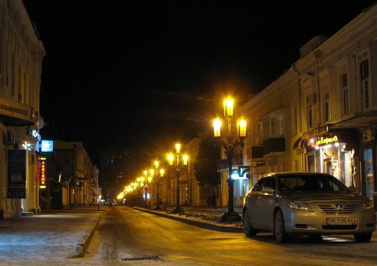 Ночная Феодосия