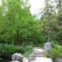 Мостик с агавами. Форосский парк