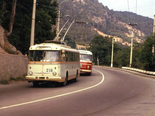 Симферополь - Ялта, 1973 год