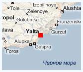 Ласточкино гнездо, карта Фото Как доехать до