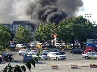 В Болгарии взорвался автобус с израильскими туристами