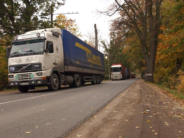 В России грузовики обложат новым сбором