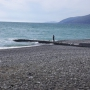 Домик у моря: Пляж у дома